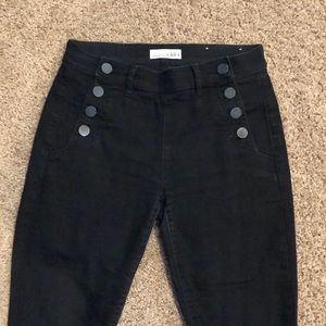 Black sailor jeans